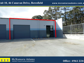 Factory, Warehouse & Industrial commercial property for sale at Unit 10/46 Canavan Drive Beresfield NSW 2322
