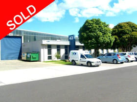 Factory, Warehouse & Industrial commercial property sold at 4/43 Taunton Drive Cheltenham VIC 3192