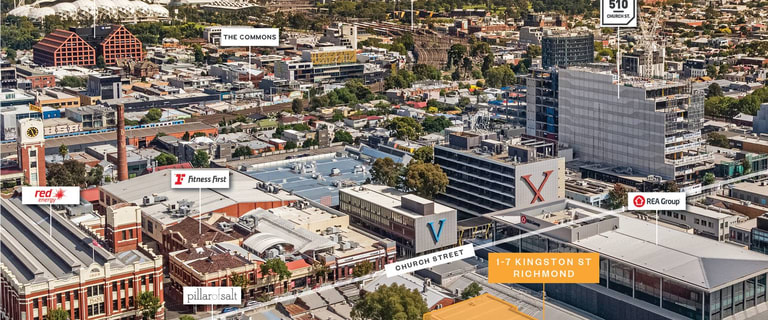 Factory, Warehouse & Industrial commercial property sold at 1-7 Kingston Street Richmond VIC 3121