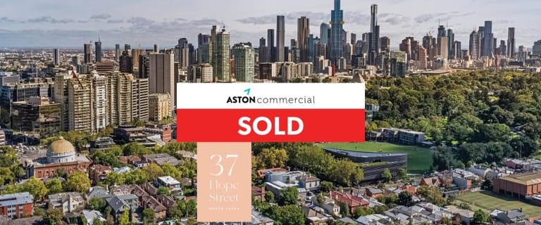 Development / Land commercial property sold at 37 Hope Street South Yarra VIC 3141