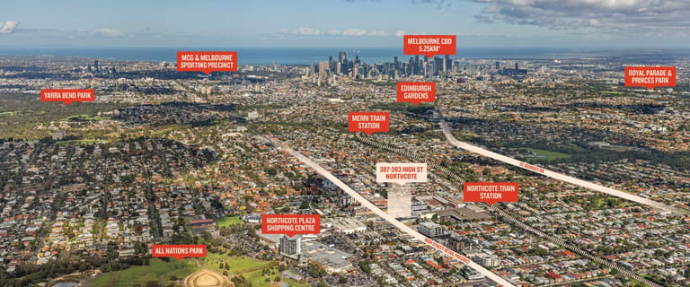 Development / Land commercial property for sale at 387-393 High Street Northcote VIC 3070