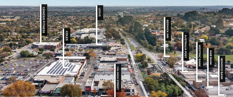 Shop & Retail commercial property for sale at 104 High Street Berwick VIC 3806