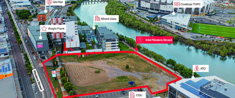 Development / Land commercial property for sale at 534 Flinders Street Townsville City QLD 4810