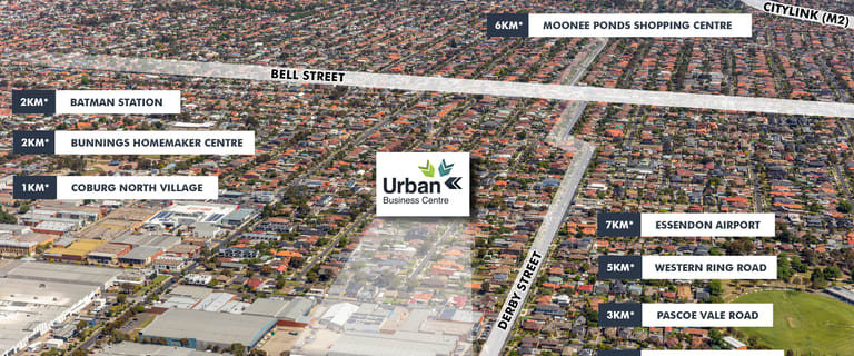 Offices commercial property for lease at Urban Business Centre/98-100 Derby Street Pascoe Vale VIC 3044
