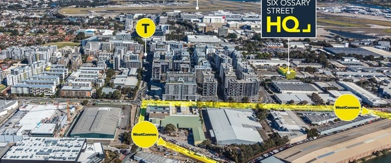 Offices commercial property for lease at HQ/6 Ossary Street Mascot NSW 2020