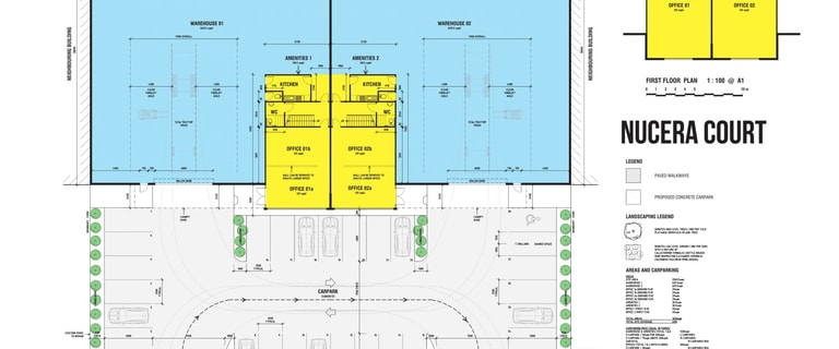Industrial / Warehouse commercial property for lease at 3 Nucera Court Green Fields SA 5107