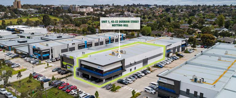 Industrial / Warehouse commercial property for lease at 1/45-53 Duerdin Street Notting Hill VIC 3168