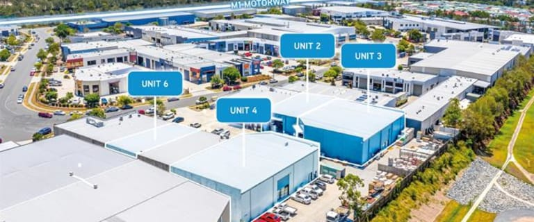 Industrial / Warehouse commercial property for lease at Units 2, 3, 4, 6 / 52 Blanck Street Ormeau QLD 4208