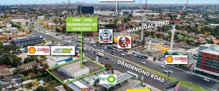 Retail commercial property for lease at 1394-1396 Dandenong Road Oakleigh VIC 3166