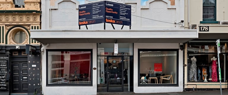 Retail commercial property for lease at 180 Bridge Road Richmond VIC 3121