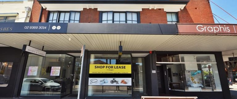 Shop & Retail commercial property for lease at Ground  Shop 1/146 Edgecliff Road Woollahra NSW 2025