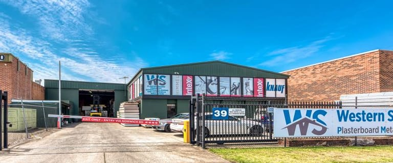 Factory, Warehouse & Industrial commercial property for lease at Whole/39 Lancaster Street Ingleburn NSW 2565