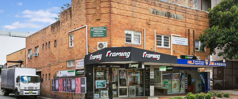 Shop & Retail commercial property for lease at 49 Kiora Road Miranda NSW 2228
