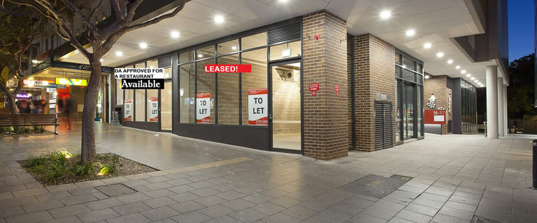 Shop & Retail commercial property for lease at 15-17 Hercules Street Ashfield NSW 2131