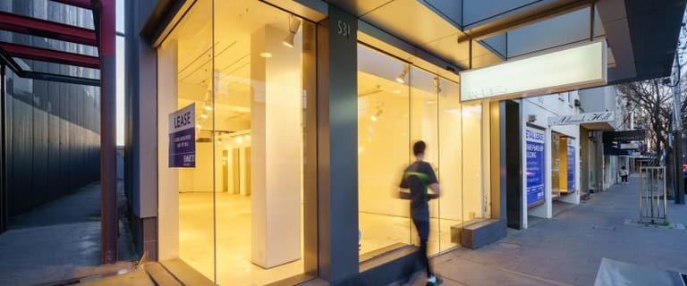 Shop & Retail commercial property for lease at 531 CHAPEL STREET South Yarra VIC 3141