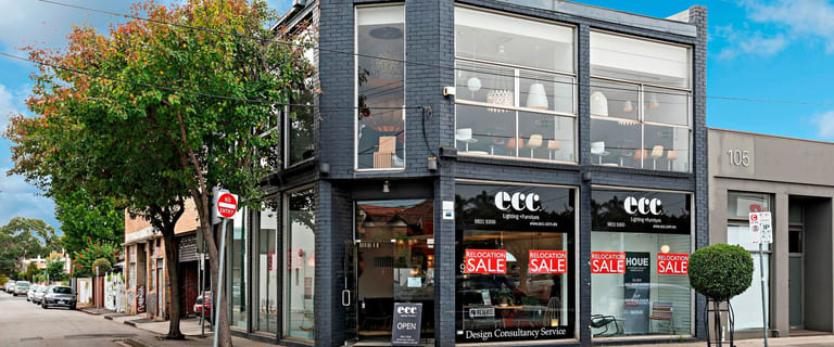 Showrooms / Bulky Goods commercial property for lease at 99-101 Commercial Road South Yarra VIC 3141