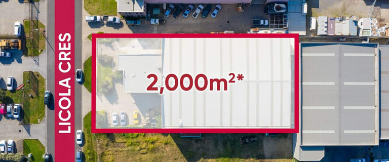 Factory, Warehouse & Industrial commercial property for lease at 50-52 Licola Crescent Dandenong South VIC 3175