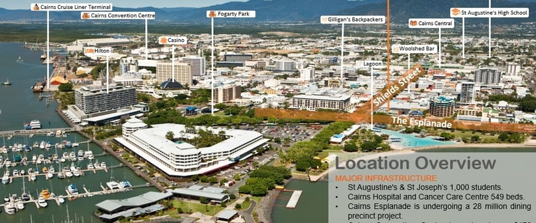 Shop & Retail commercial property for lease at 59 Esplanade Cairns QLD 4870