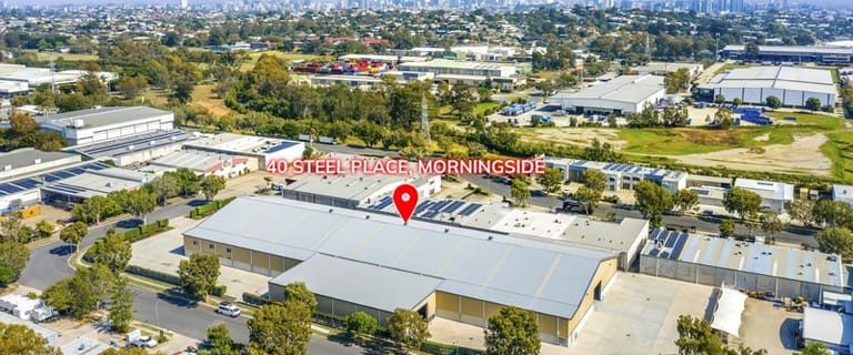 Factory, Warehouse & Industrial commercial property for lease at 40 Steel Pl Morningside QLD 4170