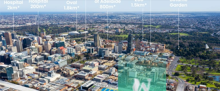 Medical / Consulting commercial property for lease at 264-300 Wakefield Street Adelaide SA 5000