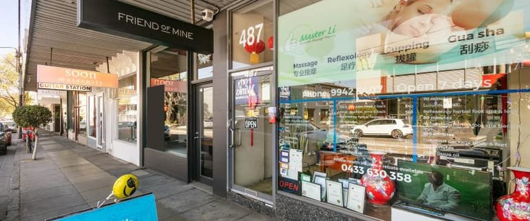 Shop & Retail commercial property for lease at 487 Malvern Road South Yarra VIC 3141