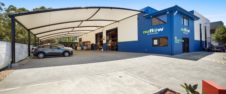 Factory, Warehouse & Industrial commercial property for lease at 34 Export Drive Molendinar QLD 4214