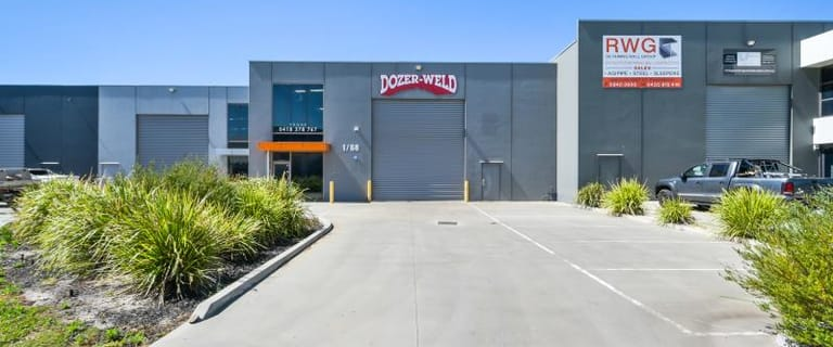 Factory, Warehouse & Industrial commercial property for lease at Unit 1/68 Peet Street Pakenham VIC 3810