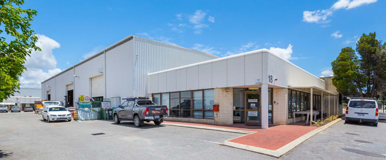 Factory, Warehouse & Industrial commercial property for lease at 18 Fisher Street Belmont WA 6104