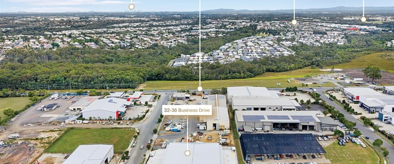 Factory, Warehouse & Industrial commercial property for lease at 32-36 Business Drive Narangba QLD 4504