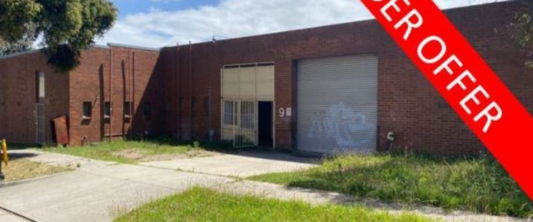 Factory, Warehouse & Industrial commercial property for lease at Ground/9 Monomeeth Drive Mitcham VIC 3132