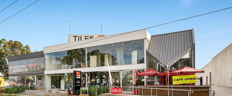Showrooms / Bulky Goods commercial property for sale at 615-619 Whitehorse Road Mitcham VIC 3132