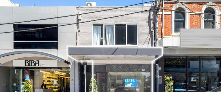 Shop & Retail commercial property for lease at Retail/54 Toorak Road South Yarra VIC 3141