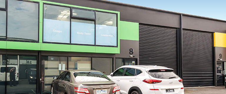 Factory, Warehouse & Industrial commercial property for lease at 8/158 Chesterville Road Moorabbin VIC 3189