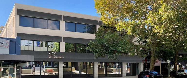 Offices commercial property for lease at Level 1 &/Or 2/123 Willoughby Road Crows Nest NSW 2065