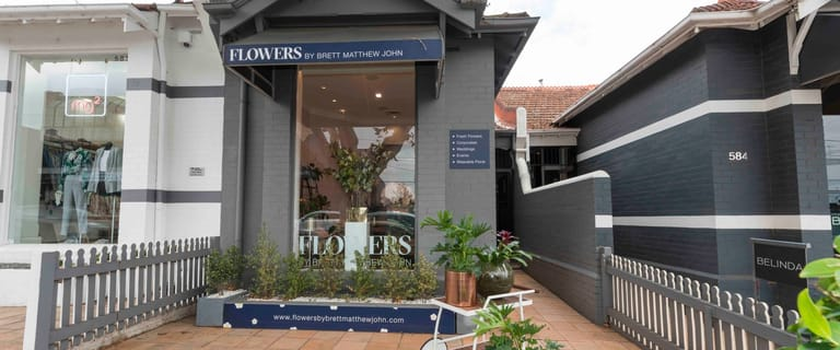 Shop & Retail commercial property for lease at 586 Malvern Road Prahran VIC 3181