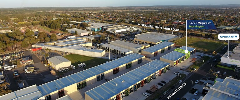 Showrooms / Bulky Goods commercial property for lease at 15/31 Milgate Drive Mornington VIC 3931