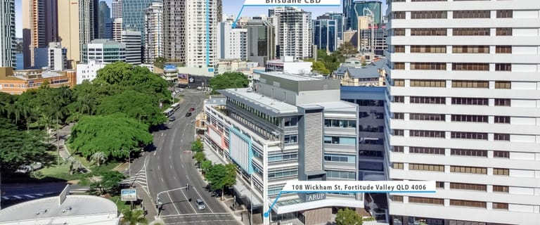 Showrooms / Bulky Goods commercial property for lease at 108 Wickham Street Fortitude Valley QLD 4006