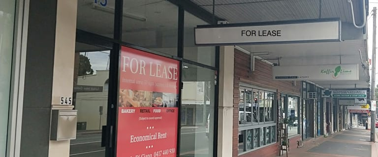 Shop & Retail commercial property for lease at 545 Willoughby Road Willoughby NSW 2068