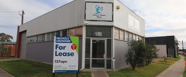 Factory, Warehouse & Industrial commercial property for lease at 1/80 Bardia Avenue Seaford VIC 3198