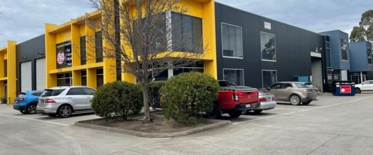 Factory, Warehouse & Industrial commercial property for lease at 12/101-103 Wedgewood Road Hallam VIC 3803