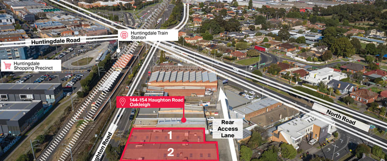 Showrooms / Bulky Goods commercial property for lease at 144-154 Haughton Road Oakleigh VIC 3166