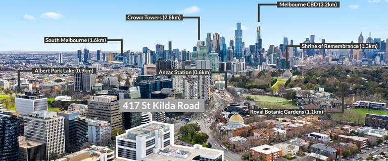 Offices commercial property for lease at 417 St Kilda Road Melbourne VIC 3004