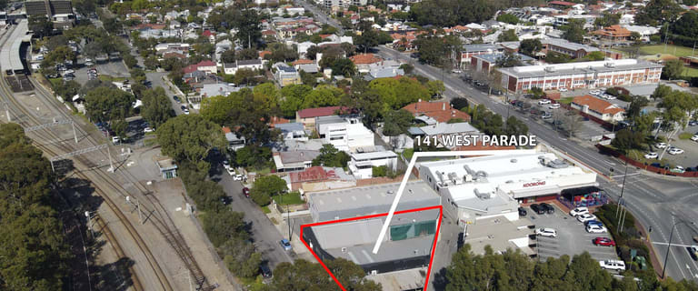 Factory, Warehouse & Industrial commercial property for lease at 141 West Parade Mount Lawley WA 6050