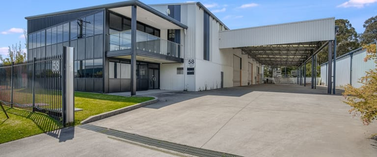 Factory, Warehouse & Industrial commercial property for lease at 58 Enterprise Drive Beresfield NSW 2322