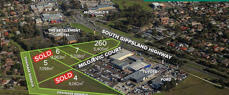 Development / Land commercial property for sale at 260 South Gippsland Highway Cranbourne VIC 3977