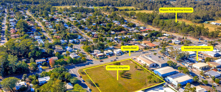Factory, Warehouse & Industrial commercial property for sale at 2 Stone Court Kingston QLD 4114