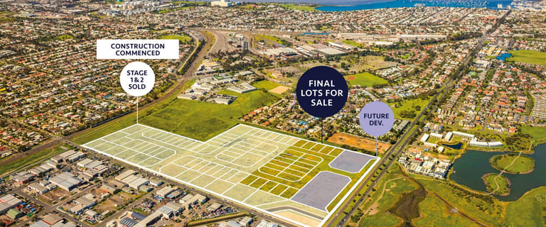 Factory, Warehouse & Industrial commercial property for sale at 85 Maddox Road Williamstown North VIC 3016