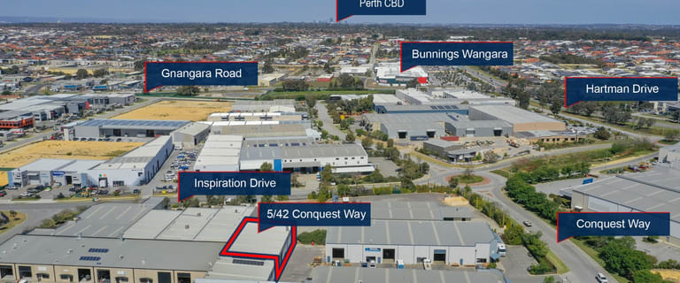 Industrial / Warehouse commercial property for sale at 5/42 Conquest Way Wangara WA 6065