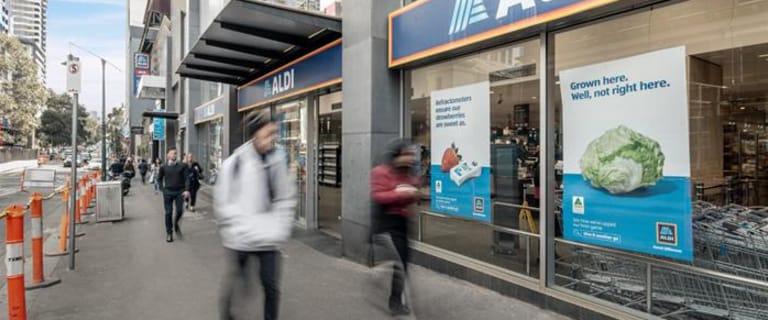 Retail commercial property for sale at Aldi, 8 Franklin Street Melbourne VIC 3000