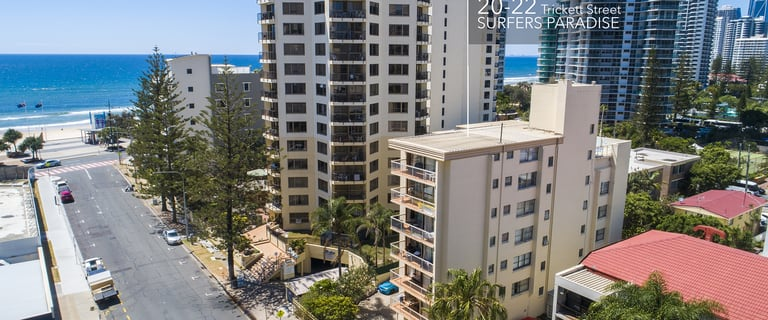 Hotel / Leisure commercial property for sale at 20-22 Trickett Street Surfers Paradise QLD 4217